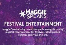 Festival Entertainment / Maggie Speaks brings an unstoppable energy & quality musical entertainment for festivals, block parties, summer carnivals, & more. Visit http://www.chicago-bands.com/band/maggie-speaks/ for more info. #maggiespeaks #festival #musicfestival #livemusic