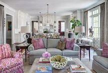 Susan Tollefsen Interiors / interior design, pillows, cool accessories