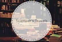 Scamper's Travels / See where Omaha Public Library's mascot Scamper has traveled!