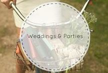 Weddings & Parties / Fantastic book/library-inspired ideas for your special celebration.