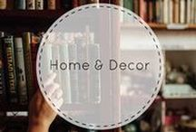 Home & Decor / Decorate your home or apartment with BOOKS!