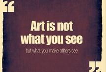 Art for Art's Sake / by Eirene Ritznore