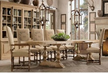 French Country Dining Tables / Warm and welcoming French Country dining rooms and tables.