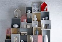 storage and shelves