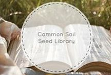 Common Soil Seed Library / Green thumb or not, we'll help you grow a gorgeous garden!