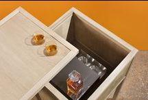 Wunderbuffet / Complementi di arredo in Rovere certificato Pefc termotrattato Bio Antique® | Una collezione di scrigni, custodi di sapori | Fatto a mano