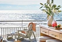 Life at the Beach / Surf, sea and sand. Life is better at the beach. Find all the furnishings and decor you'll need for your coastal cottage here: http://belleescape.com/coastal-cottage-furniture-decor/