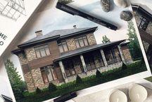 KAT'S HOUSE / Проекты моих домов / My projects