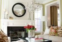 Mantles / Mantle ideas to change your old fireplace mantle into something stunning.