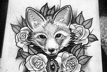 Tattoo / Rabiscos e ideias para eternizar na pele.