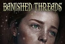 Book 3, Threads Series: Banished Threads / While vacationing in Bellwood, England, a valuable art collection disappears turning Chase Cohen and Rachel Lyons into crime-stopping sleuths willing to risk their lives to vindicate family members in Kaylin McFarren's award-winning, action-packed thriller.