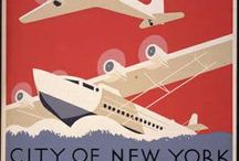 Decorating With - Vintage Travel Posters / I love travel and these vintage travel posters remind me of many of the places I've seen. The images can be used in albums or as decorative posters. MoreStyleThanCash.com