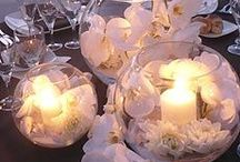 Candles Ideas / Candle light can instantly change the atmosphere in a room. An easy and inexpensive way to live with More Style Than Cash.