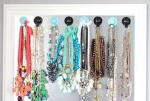 Organizing Jewelry / Unique and interesting ideas on how to organize your jewelry. MoreStyleThanCash.com