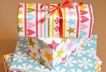 Projects - Printable Gift Wrap / When you don't have any paper to wrap a gift here is great gift wrap paper that you can print off! Never be lost for the perfect gift wrap again! Be the clever one that is always prepared. (Check out my Printable Cards Group Board as well!)