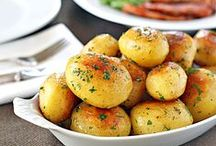 Potato Recipes / Another example of how I believe that simple inexpensive  ingredients, like potatoes, can be the backbone to great meals. It doesn't take a fortune to live well. Check out my other boards to living well. MoreStyleThanCash.com