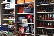 Organizing  Purses / If you love your purses you need a great way to organize them! Fabulous ideas on how to keep your purses in good order, easy to see and looking great.