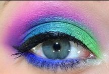 Electric Challenge Inspiration / Urban Decay Electric Palette Eye Makeup Looks