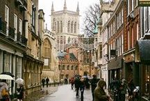 Cities to Walk Through / Walking is the best way to discover a new place. Here is a host of wonderful cities and towns to walk through, many I have been to and the rest I am determined to visit.