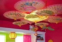 Ceilings / Look up! Add some interest to your rooms by doing something to your ceiling. For more interesting ideas sign up for my Newsletter at Morestylethancash.com