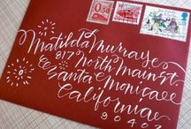 Letters, prints & fonts / by Beth Cahill