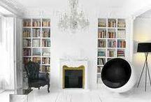 interior & exterior livings / by Ralph K. Earcandycollector.