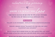 Silpada's Pin the Life You Love Valentine's Day Give Away! / by Kaitlyn and Corey Griffin