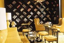 Bookcase Inspirations / by Shelly Stuart