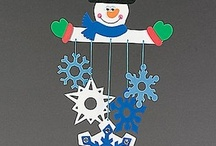 negua / winter crafts / manualidades invierno bb / by blanca