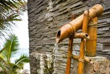 Outdoor Showers for Beach Cottage