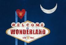 Wonderland / 'But I don't want to go among mad people,' said Alice. 'Oh, you can't help that,' said the cat. 'We're all mad here.'