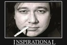 """Arizona Bay / Bill Hicks; American stand-up comedian, social critic, satirist and musician. His material, encompassing a wide range of social issues as well as religion, politics, and philosophy, was controversial, and often steeped in dark comedy. He criticized consumerism, superficiality, mediocrity, and banality within the media and popular culture, which he characterized as oppressive tools of the ruling class that """"keep people stupid and apathetic""""."""