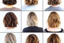Bob-bob / Medium/short hair cuts