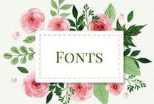 Fonts, Fonts, and more Fonts!