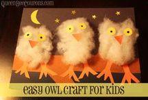 Owls / by Amy Cavallin