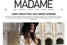 Press & Features / Lena Terutter, Press, Features, Magazines, TV, me in the press, VÖ, boutique belgique, blogger, interview