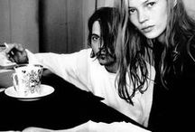 Fav´ b&w Pics / balck and white, b&w, fotos, photos, photography, icons, sonic editions, kate moss, johnny depp, models, stills,
