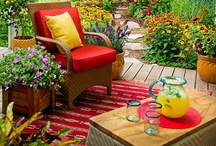 Paths/Patios/Porches. / Path, Patio,Porch Designs / by Lorilee Hull