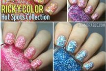 RickyColor Nails & Makeup / Inspired by everything and everyone NYC -- there's a RickyColor for everyone. / by Ricky's NYC