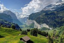 SPARKLING SWITZERLAND / Switzerland is a land of stunning beauty, sparkling cleanliness, and unforgettable views. My favourite country in Europe.