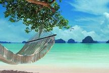 Dream islands, beaches, spas with a view! / No idea where some of these are, but I can dream of being there.