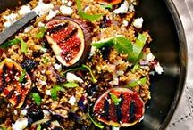 salads + dressings / healthy, hearty and colorful salad recipes + healthy homemade dressings