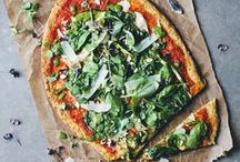 healthy pizza / healthy and nutritious homemade pizza recipes for Friday nights