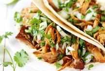 slow cooker recipes / easy, healthy slow cooker/crockpot lunch + dinner recipes