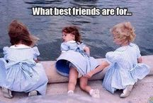 Best Friends! / Friendship, especially BFF - Best Friends Forever - is a priceless gift.  / by Fiona Clerk