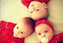 Multiple blessings / Twins, triplets, quadruplets, and more. Identical multiples fascinate me the most.