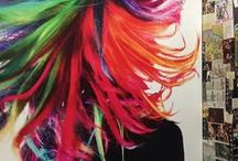 Manic Panic Color Crazy / Use this as inspiration when planning a trip to our Ricky's NYC x Manic Panic Color Asylum Salon!