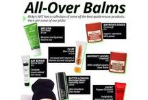 TRENDING: #AllOverBalms / Ricky's NYC has a collection of some of the best quick-rescue products. Here are some of our faves... / by Ricky's NYC