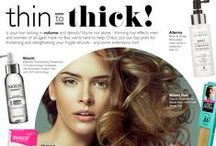 TRENDING: #ThinToThick / Is your hair lacking in VOLUME and density? You're not alone -- thinning hair effects men and women of all ages! Have no fear -- we're here to help. Check out our top picks for thickening and strengthening your fragile strands -- and some extensions, too! #hair #beauty #fashion #thickhair #thinninghair #hairproblems #need #want #love #RickysNYC