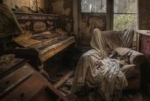 Hauntingly eerie abandoned spaces